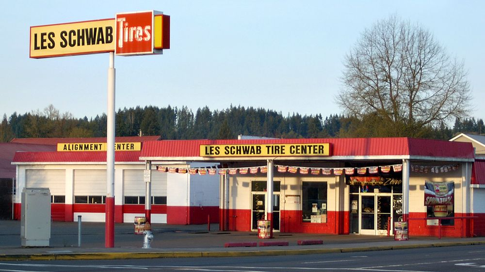 Les Schwab Tire Center: 1707 Main St, Sweet Home, OR