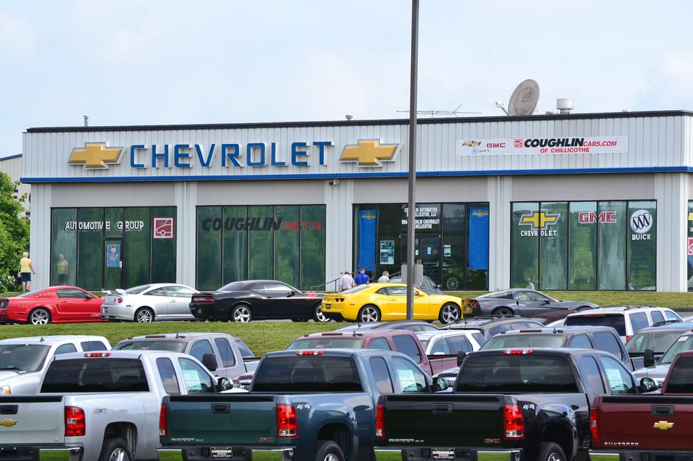 Coughlin Chevrolet Buick GMC of Chillicothe: 1221 N Bridge St, Chillicothe, OH