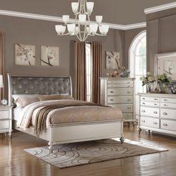 Photo Of Sanchez One Time Furniture   Richardson, TX, United States.  Platinum Bedroom