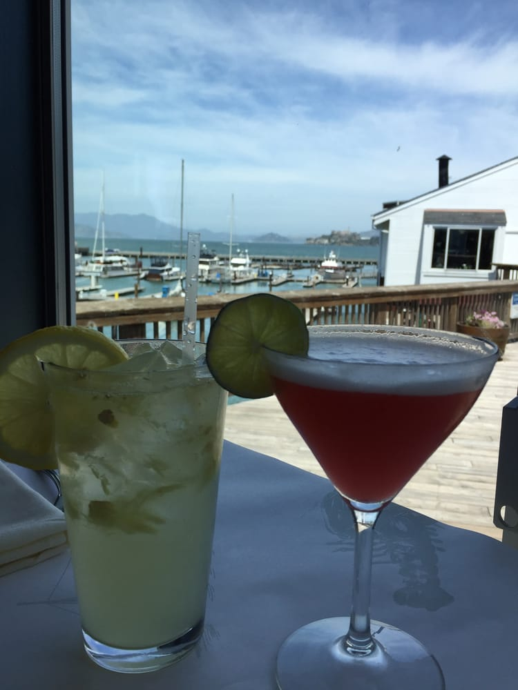 Drinks with a view yelp for Fog harbor fish house san francisco