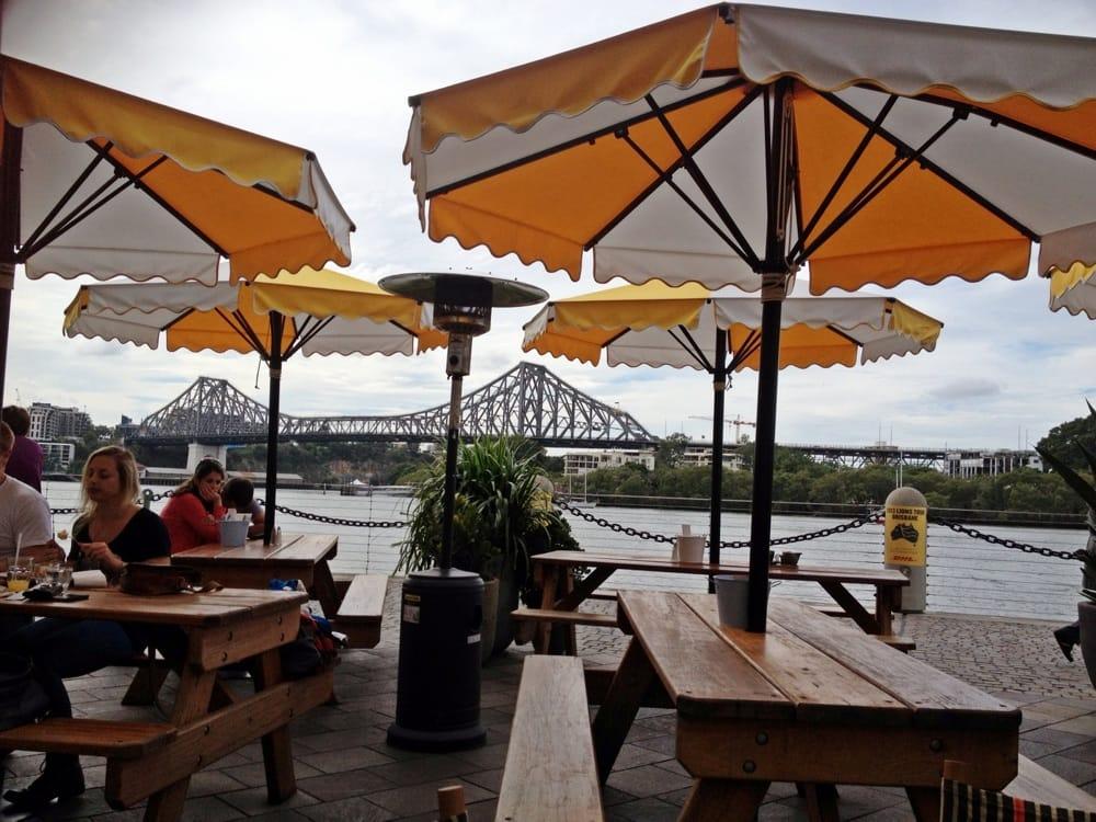 Riverbar kitchen 115 photos 36 reviews cafes 71 for Australian cuisine brisbane