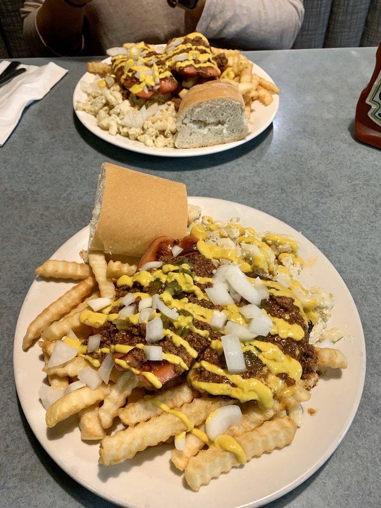 Food from Mark's Texas Hots