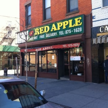 Red Apple Restaurant Closed Chinese 325 Court St Carroll Gardens Brooklyn Ny