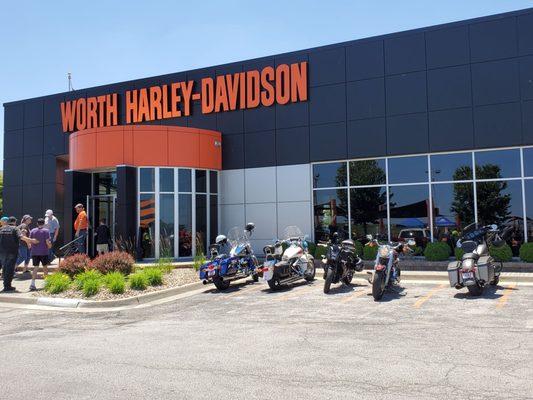 Worth Harley Davidson >> Worth Harley Davidson North 9400 Nw Prairie View Road Kansas City