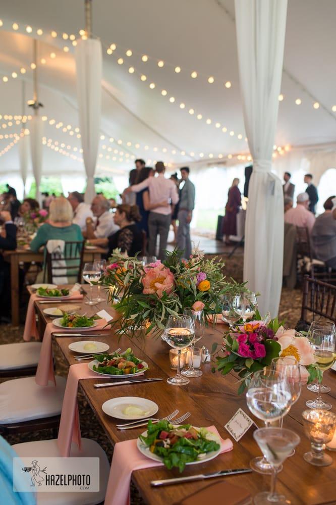 Photo of Isabella Freedman Jewish Retreat Center - Falls Village CT United States. & the wedding tent all decked out - isabella freedman jewish retreat ...