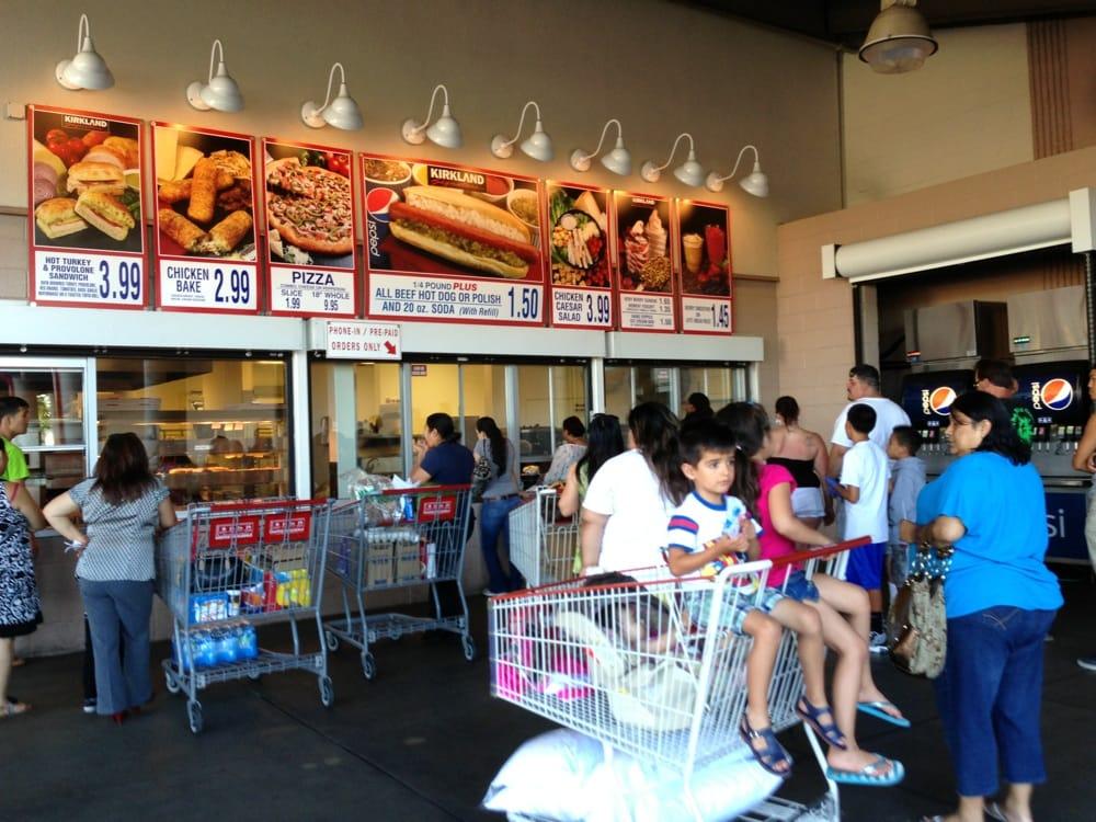 Costco Stockton Food Court
