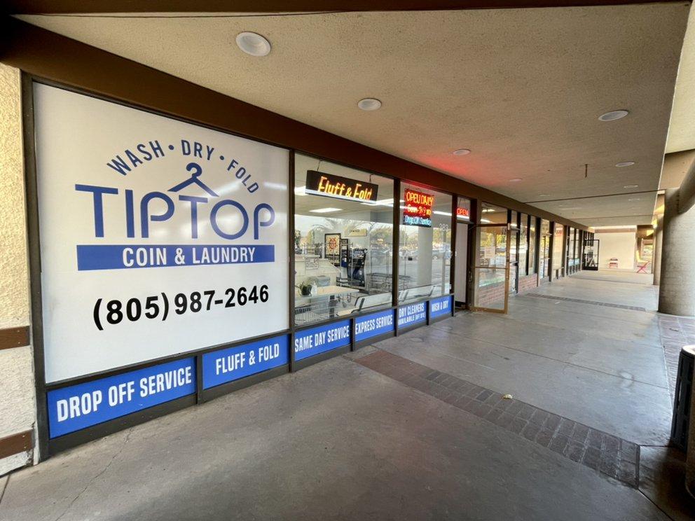 TipTop Coin Laundry: 383 Carmen Dr, Camarillo, CA