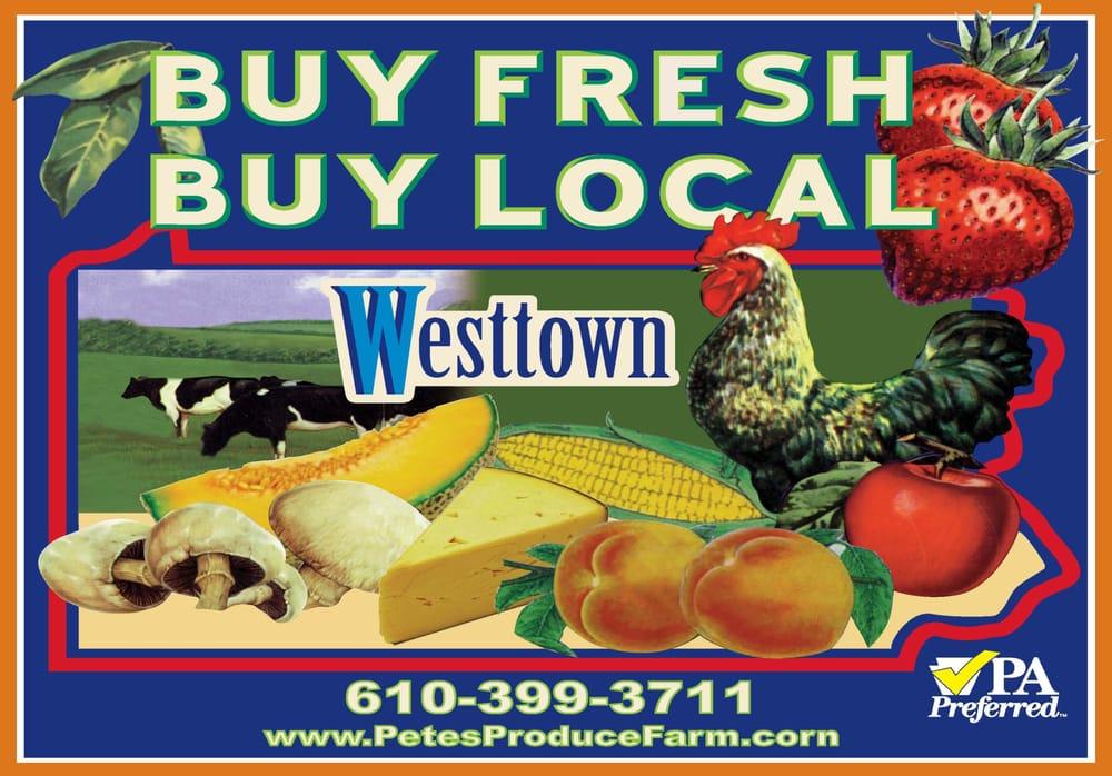Pete's Produce Farm: 1225 E Street Rd, West Chester, PA