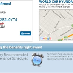 Photo Of World Car Hyundai South   San Antonio, TX, United States