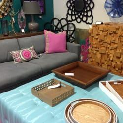 Photo Of Social   Costa Mesa, CA, United States. Sofa And Cute Ottoman ...