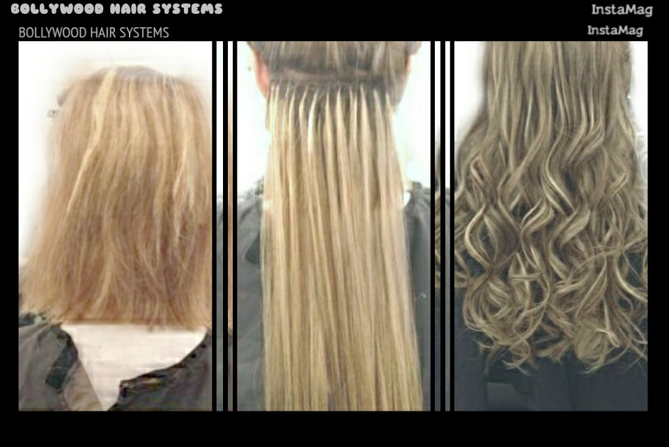 Bhs Bond System Hair Extensions Strand By Strand Non Damaging For