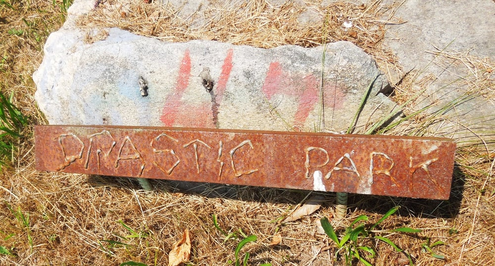 Drastic Park Dinosaur Sculptures: Palisado Ave & Clapp Rd N, Windsor, CT