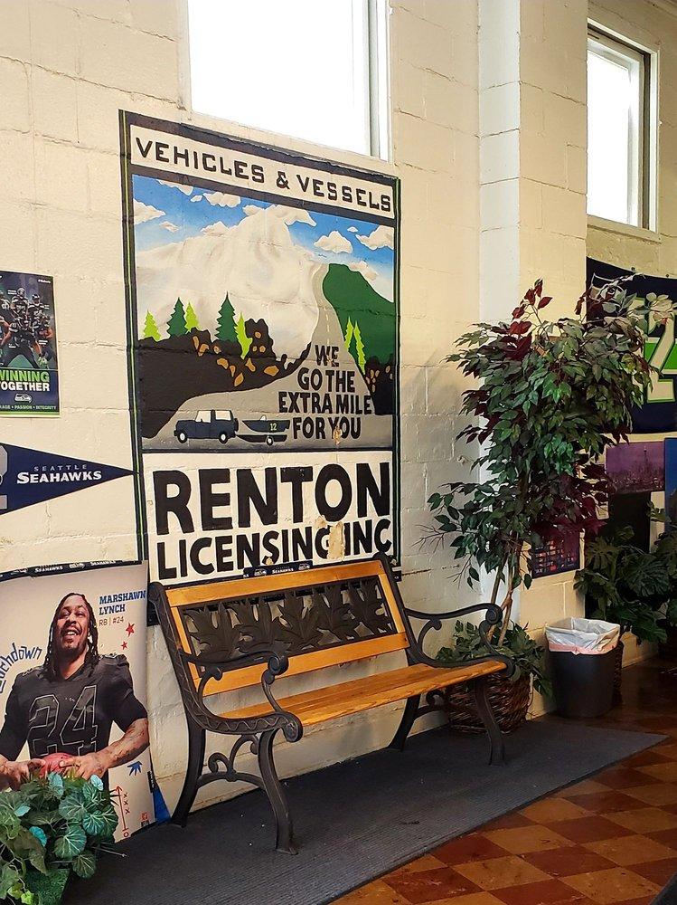 Renton License Agency: 329 Williams Ave S, Renton, WA
