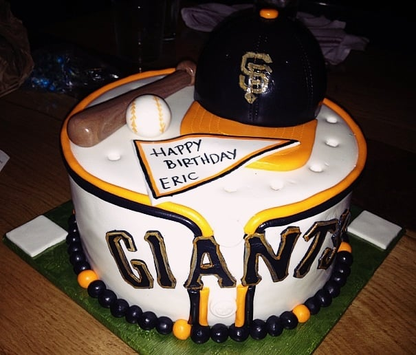 Mr Nss Sf Giants Themed Birthday Cake Tara Did An Amazing Job