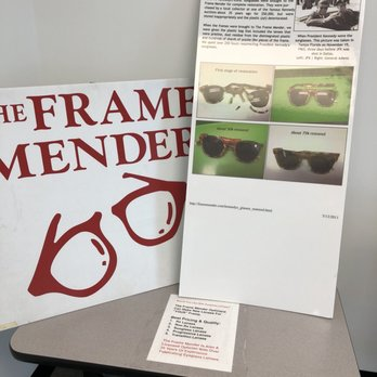 The Frame Mender Eyeglass Frame Repair Centers - 42 Photos & 57 ...