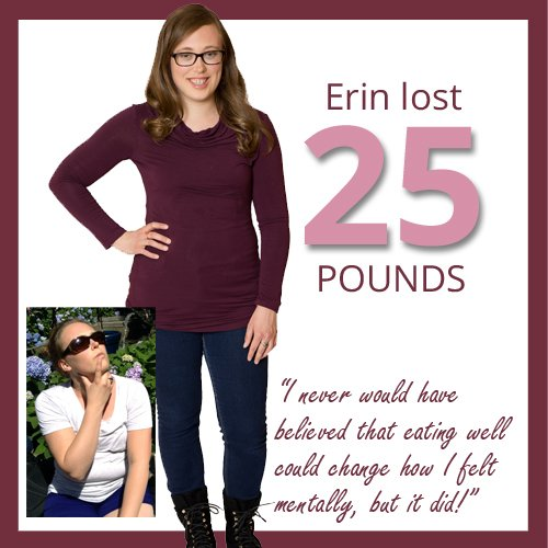 lost 25 pounds and overcame anxiety