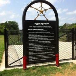 Bear Creek Dog Park Rules