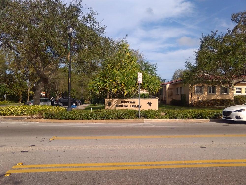 Brockway Memorial Libary: 10021 NE 2nd Ave, Miami Shores, FL