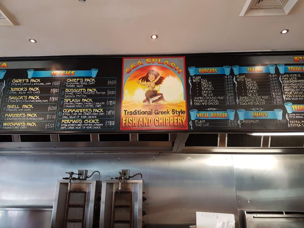 Sea splash fish chippery takeaway fast food 52 for Fast food fish restaurants near me