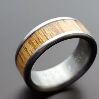 Kona Wedding Rings Hawaii Titanium Rings Jewellery 75 5744 Alii Dr