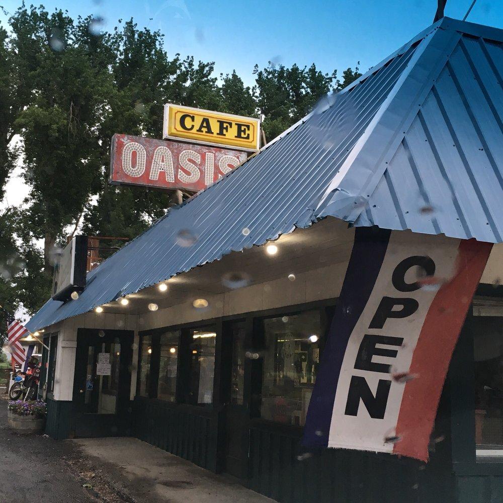 The Oasis Cafe & Motel: 5838 US 20, Juntura, OR