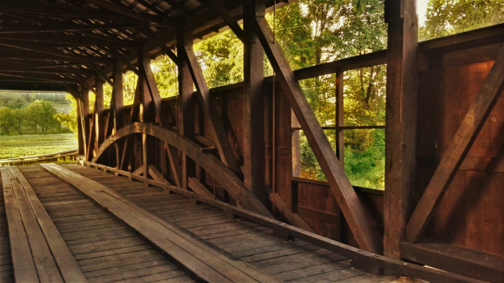 Frazier Lairdsville Covered Bridge: Dairy Farm Rd, Moreland Township, PA