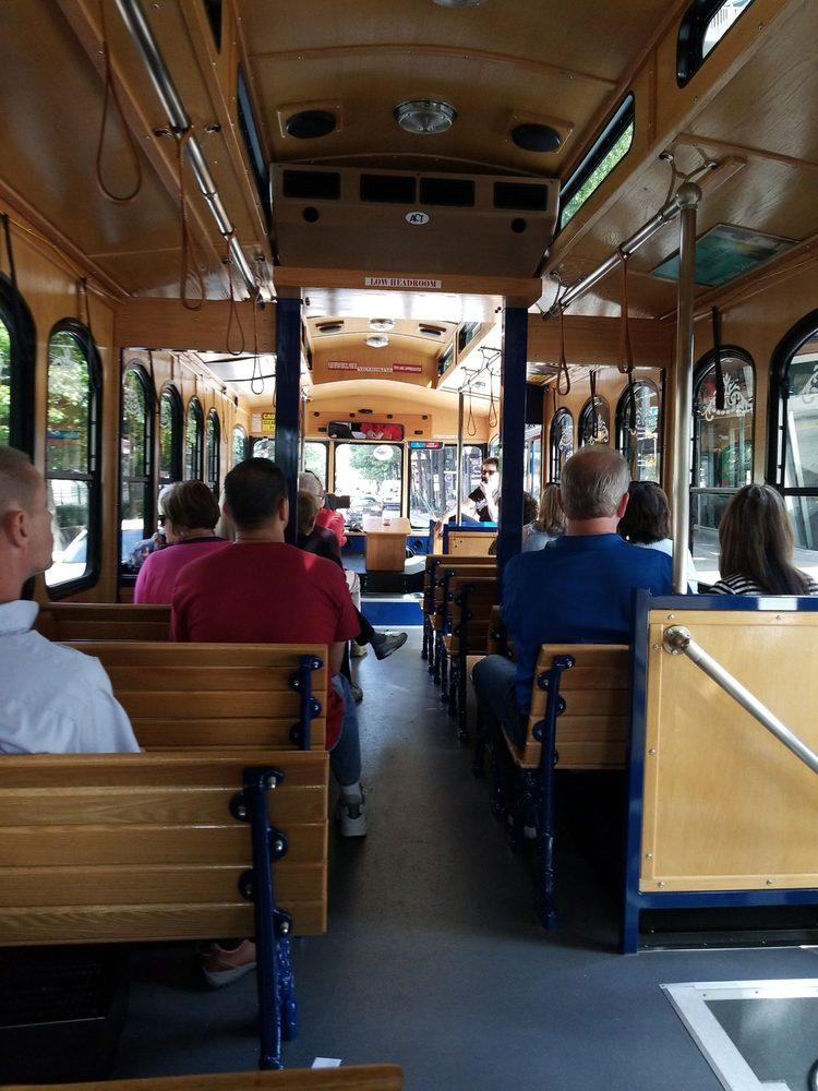 Peachtree Trolley Tour: 275 Baker St NW, Atlanta, GA