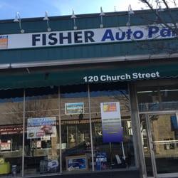 Fisher Auto Sales >> Fisher Auto Parts Auto Parts Supplies 185 Church St