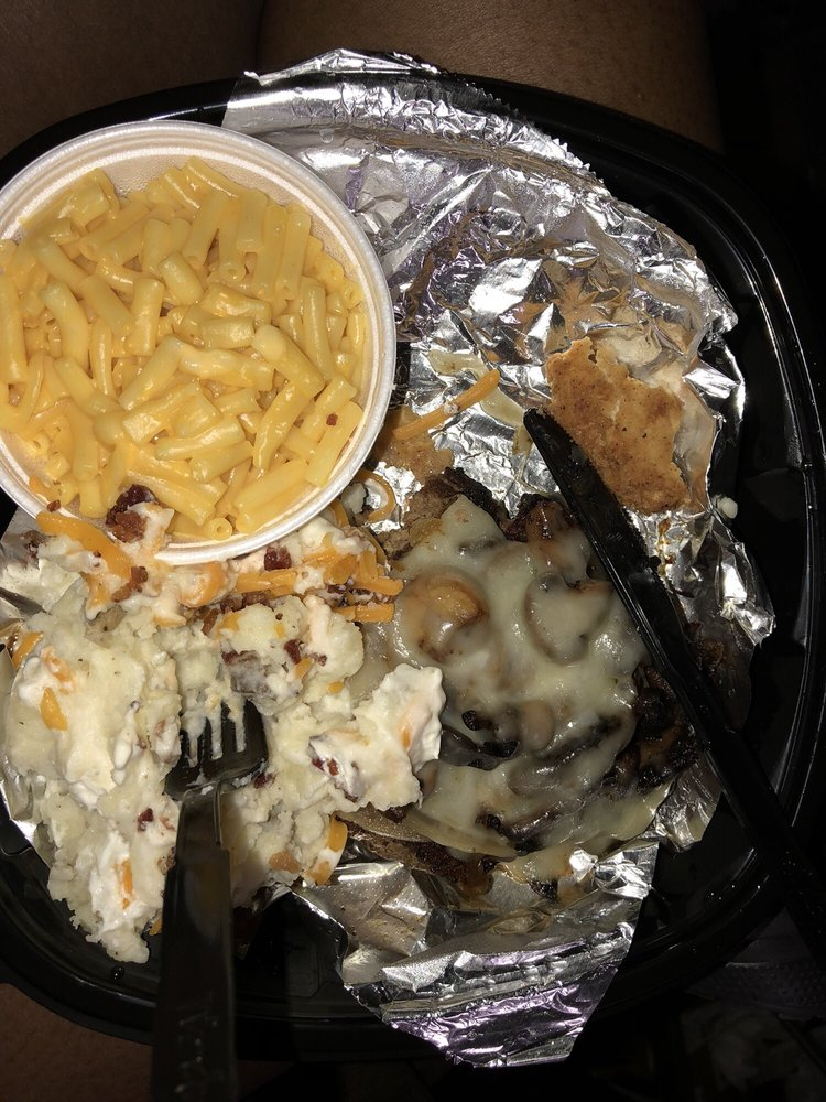 Food from Texas Roadhouse