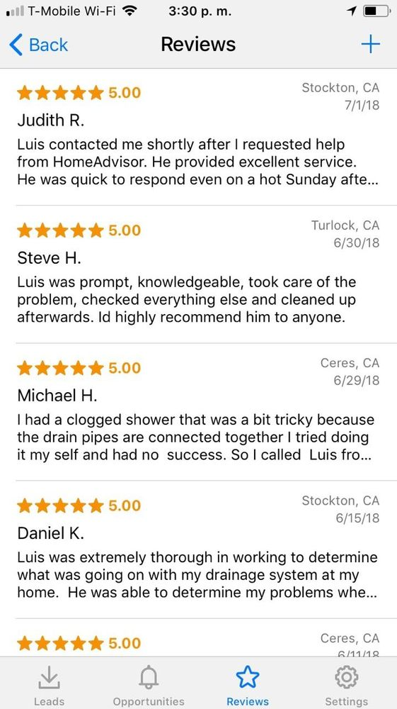 Excellence reviews on homeadvisor!! - Yelp