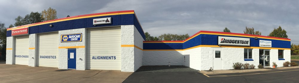 North Country Tire Service: 11290 Central Ave NE, Blaine, MN