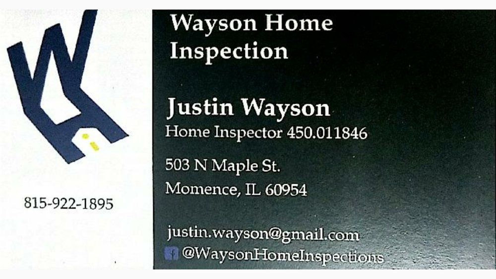 Wayson Home Inspections: Momence, IL