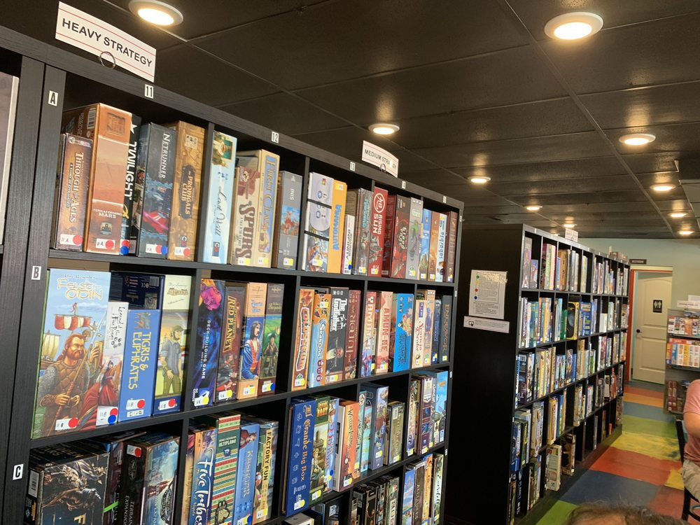 Branson Board Game Cafe: 103 S. Business Hwy 65, Branson, MO