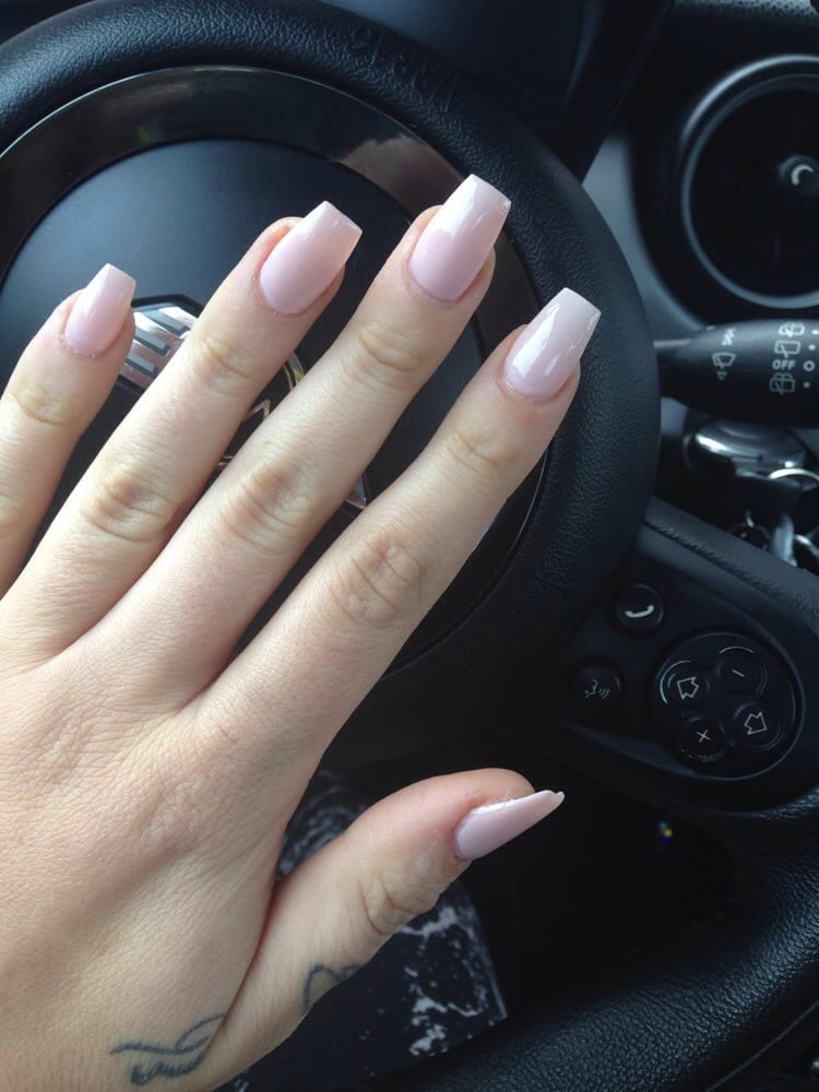 pale pink full set with \