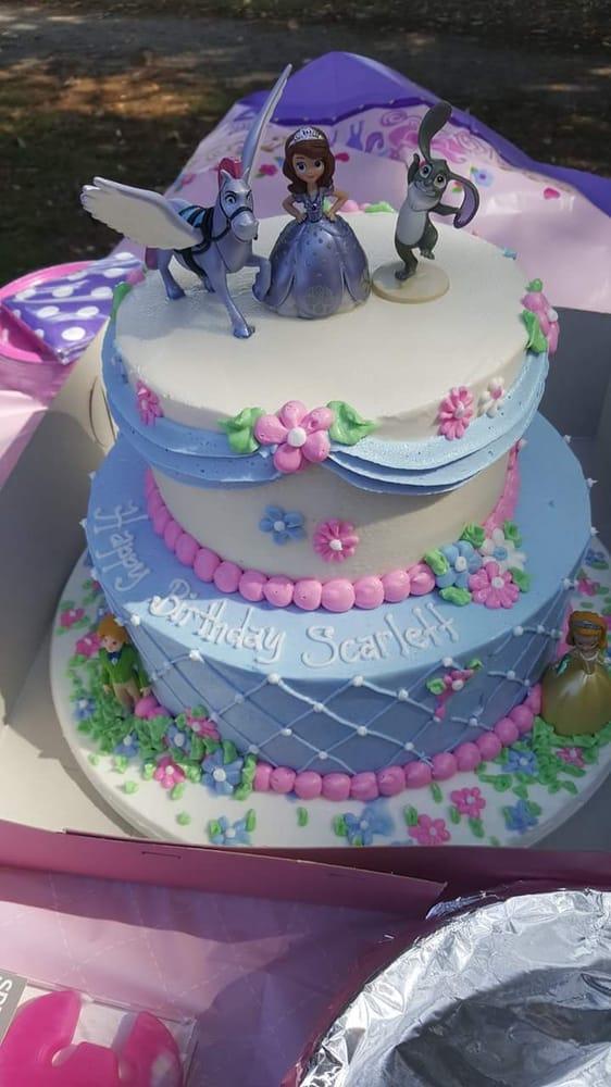Scarlett S Princess Sofia Birthday Cake Yelp