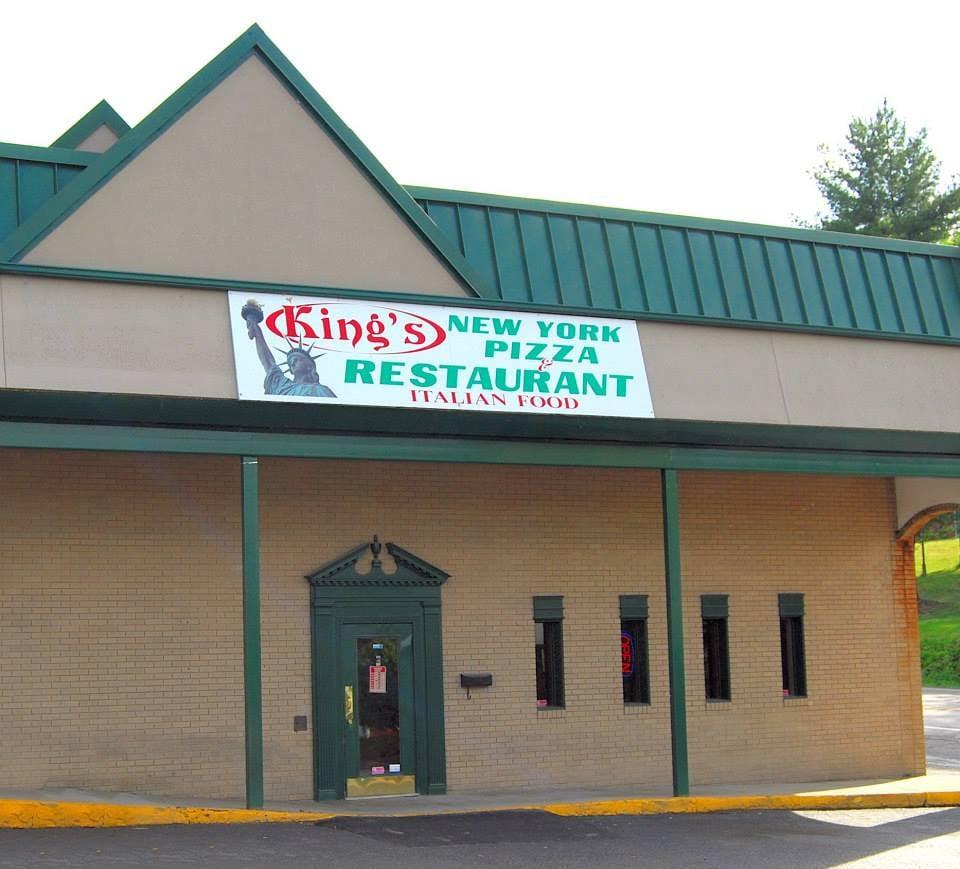 King's New York Restaurant & Pizza: 499 Rosebud Plz, Clarksburg, WV