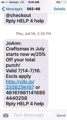 JOANN Fabrics and Crafts 25252 McIntyre St Laguna Hills, CA