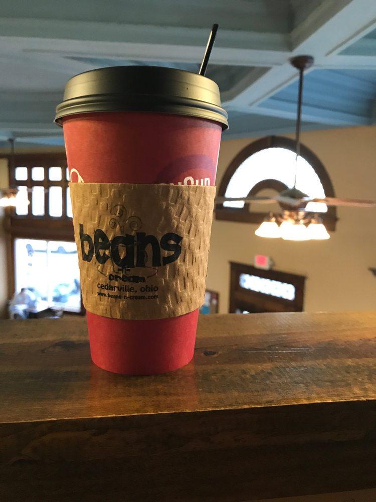 Beans-n-Cream: 65 N Main St, Cedarville, OH