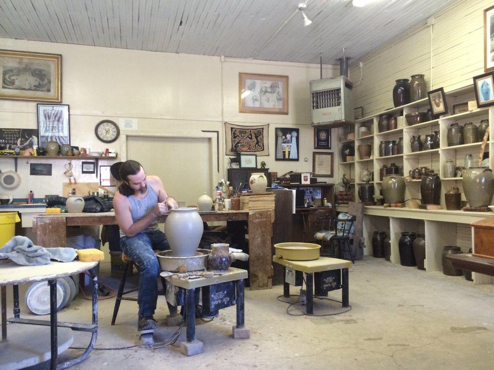 Old Edgefield Pottery: 230 Simpkins St, Edgefield, SC
