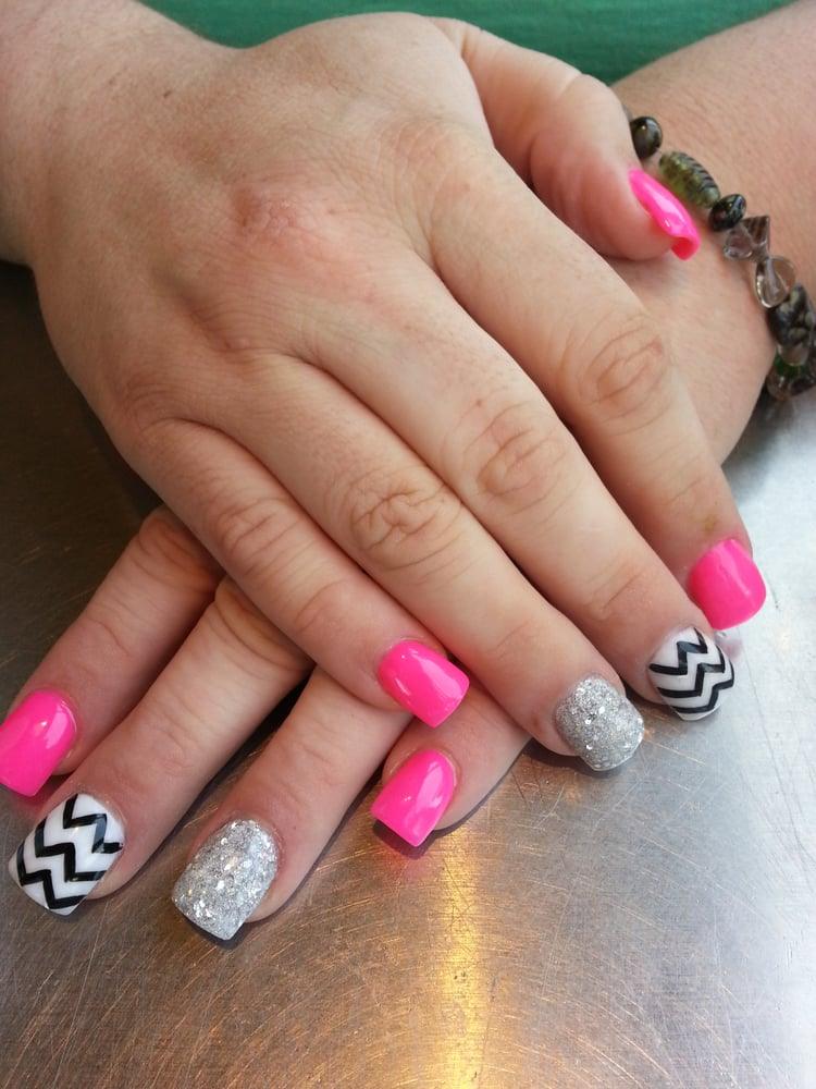These were my birthday nails :) - Yelp