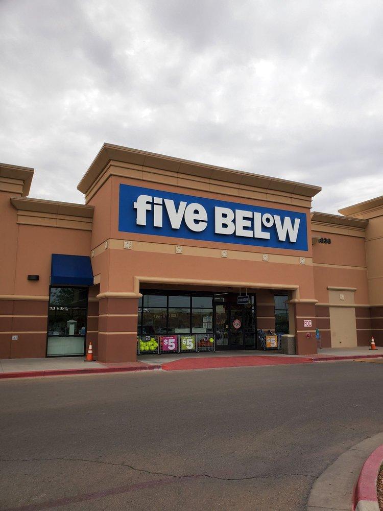Five Below: 1842 Joe Battle Blvd, El Paso, TX