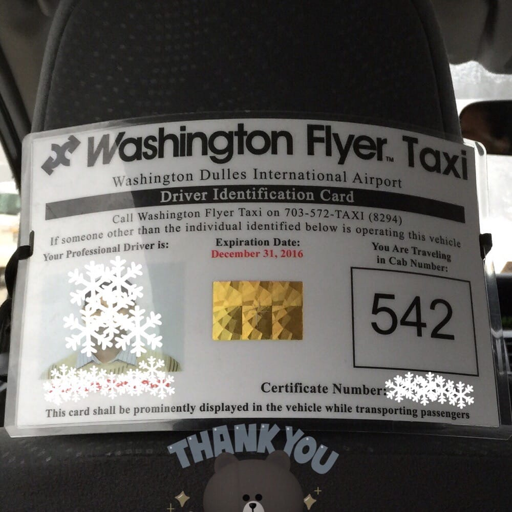 Washington Flyer Taxi Service: Dulles, VA