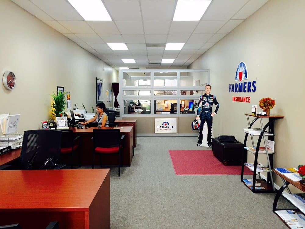 My office at Farmers insurance agency Ontario Ca - Yelp