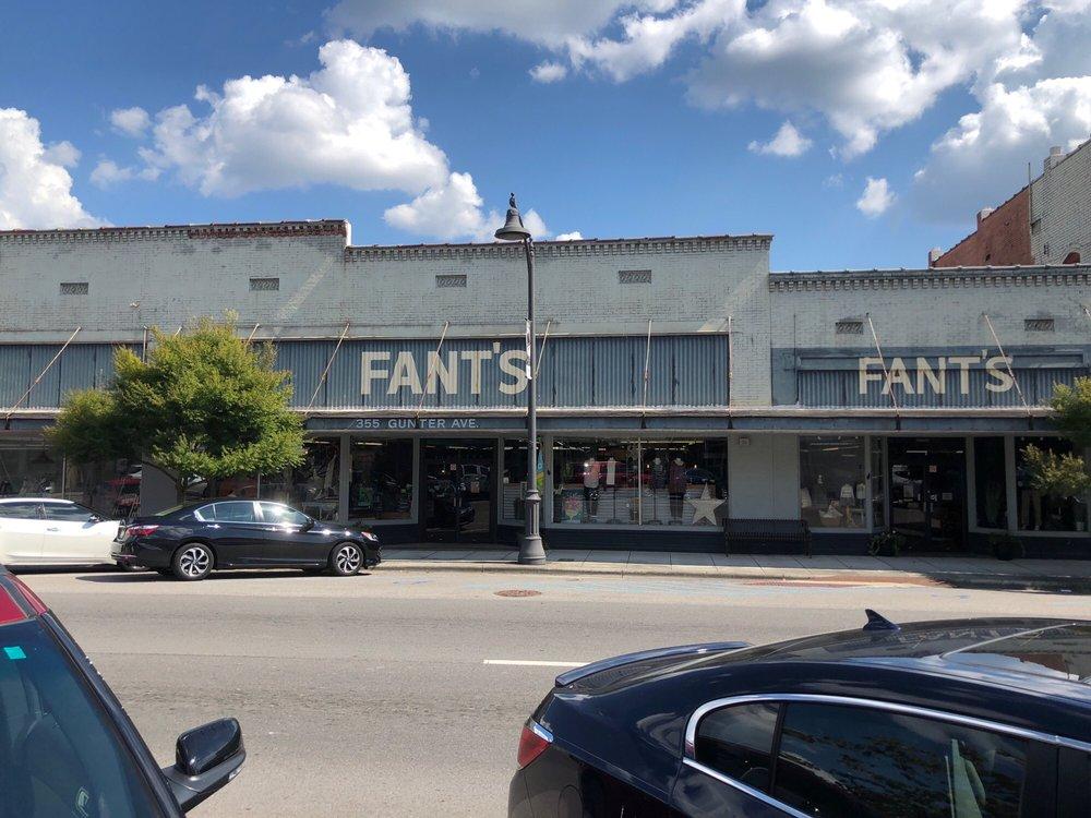 Fant's: 355 Gunter Ave, Guntersville, AL