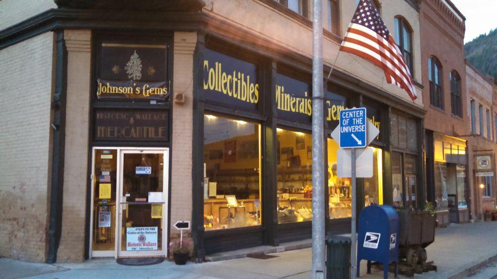 Johnson's Gems: 524 Bank St, Wallace, ID