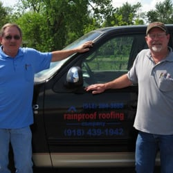 Photo Of Rainproof Roofing   Tulsa, OK, United States. Frank Nichol U0026 Danny