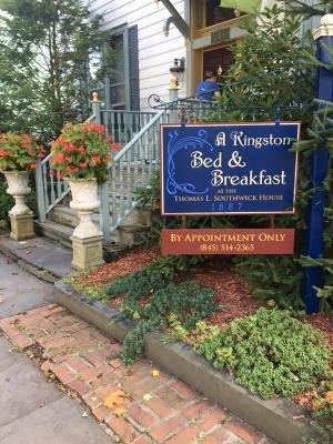 A Kingston Bed and Breakfast: 131 Fair St, Kingston, NY
