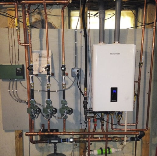 Oil to gas boiler install in Bristol, CT - Yelp