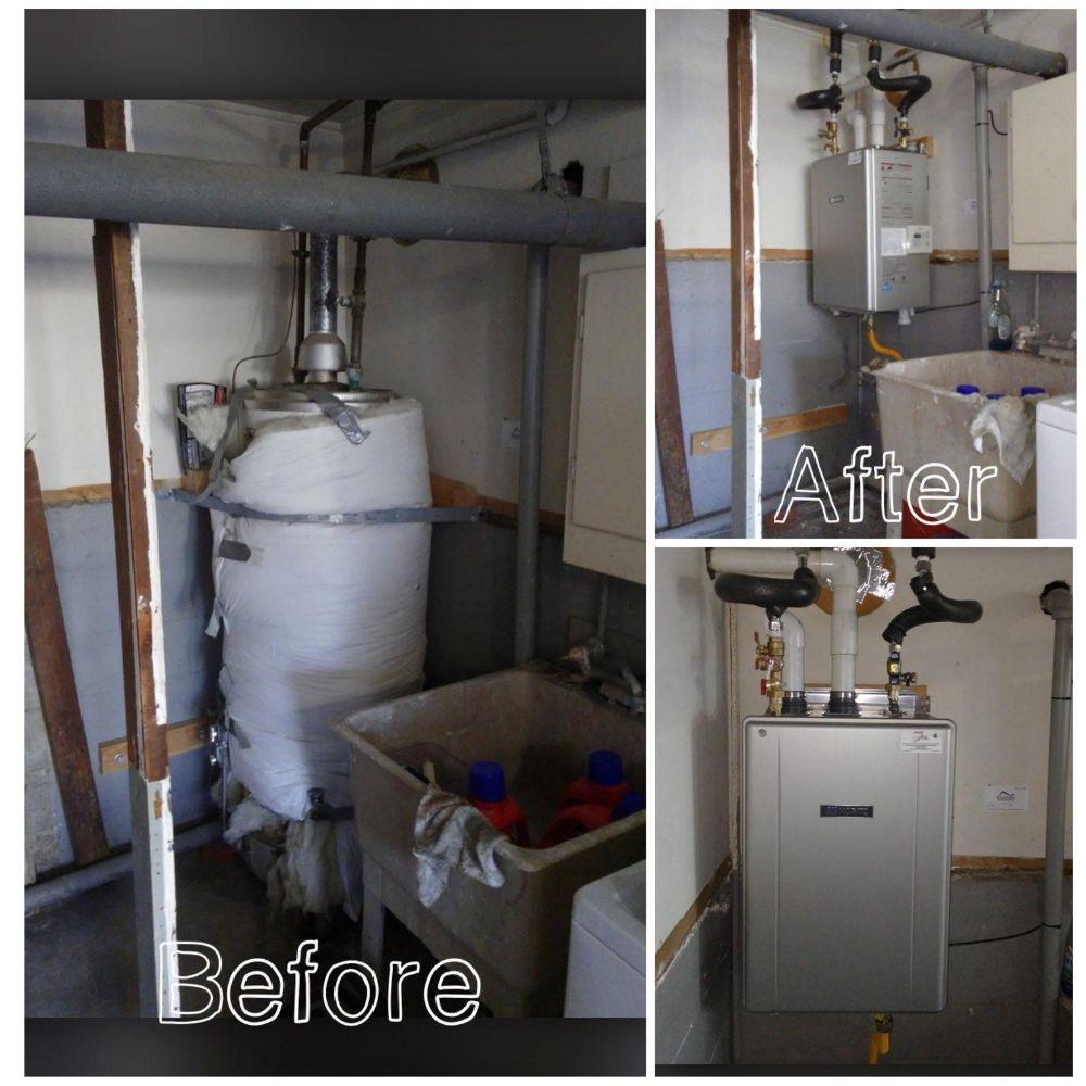 Five Star Water Heaters: Belmont, CA