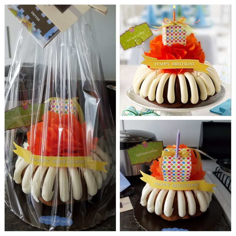 Birthday Wishes Bundt Cake Received Expected From Online Picture